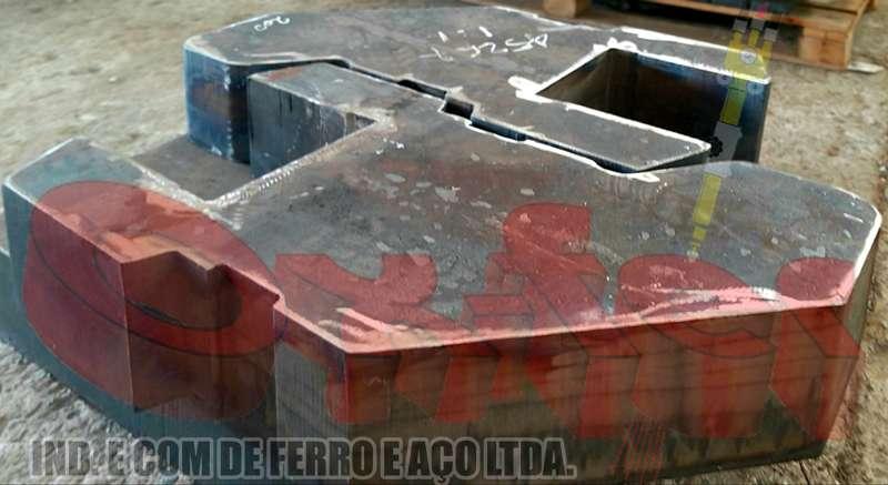 Aço patinável sac 350