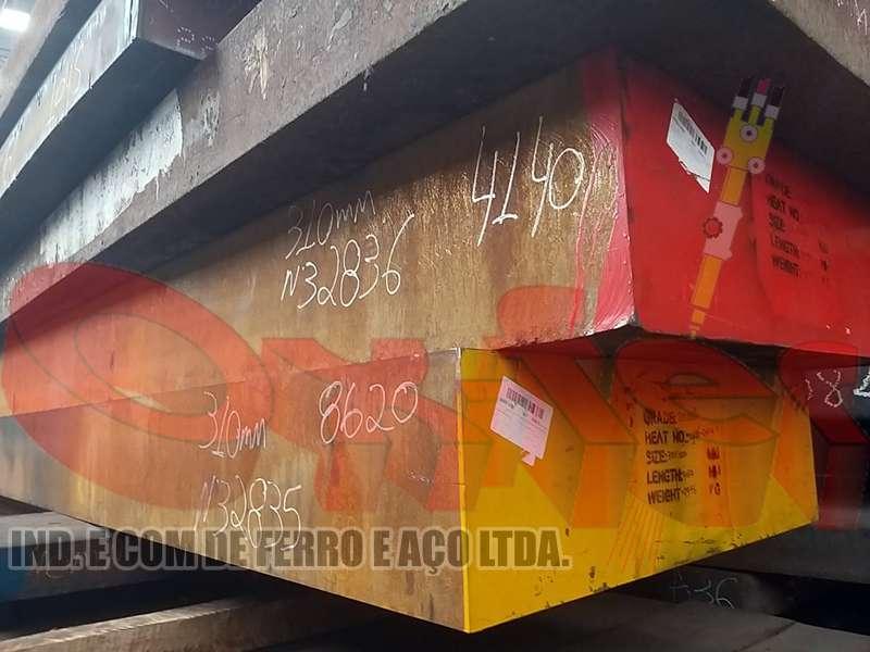 Chapa de aço 4140