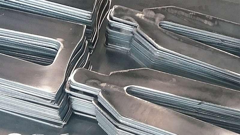 Chapa de aço fina