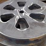Chapas de aço oxicorte