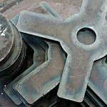 Chapa de aço cortada