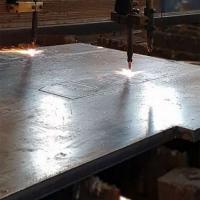 Chapas de aço cortadas sob medida